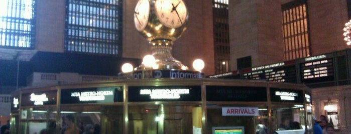 Grand Central Terminal is one of Secrets of NYC.
