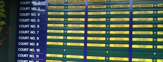 The All England Lawn Tennis Club is one of My United Kingdom Trip'09.