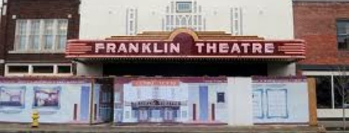 Franklin Theater is one of My places.