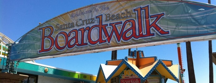 Santa Cruz Beach Boardwalk is one of Places from the reporting trail.