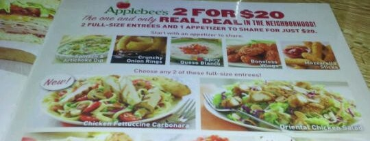 Applebee's is one of Dining in the Shoals.