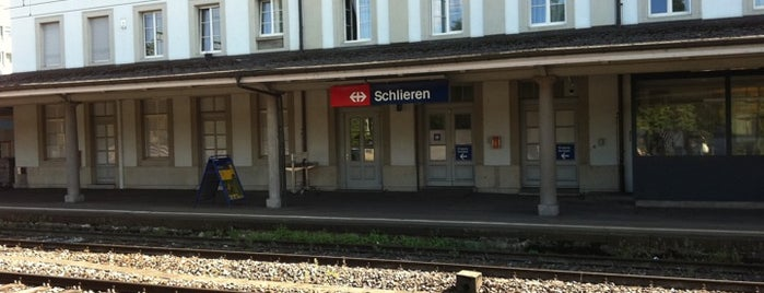 Bahnhof Schlieren is one of Bahnhöfe Top 200 Schweiz.