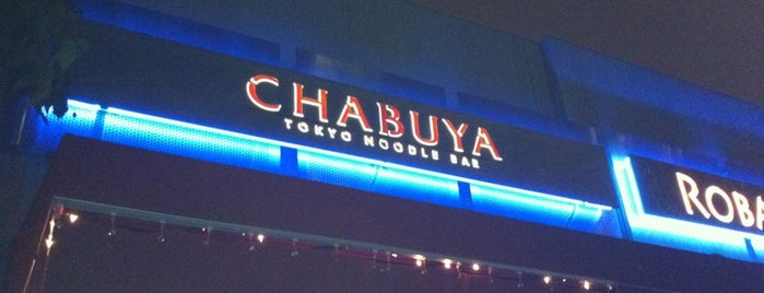 Chabuya Tokyo Noodle Bar is one of LA Absolute Favorites.