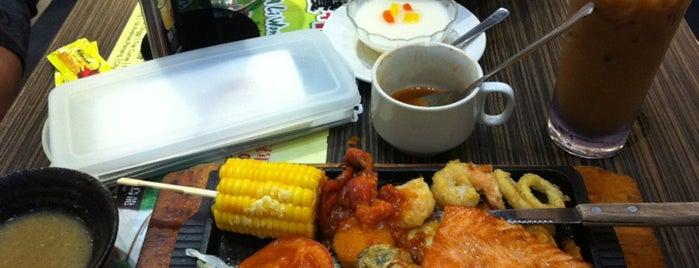 Hong Kong Kim Gary Restaurant (香港金加利茶餐厅) is one of yummy.