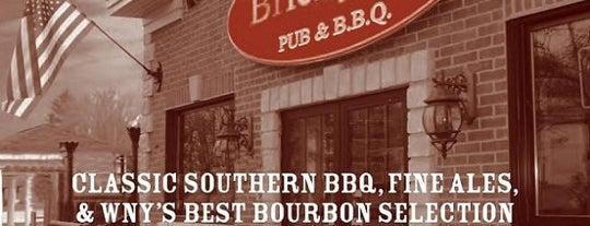 The Brickyard Pub & B.B.Q. is one of Visit to Buffalo.