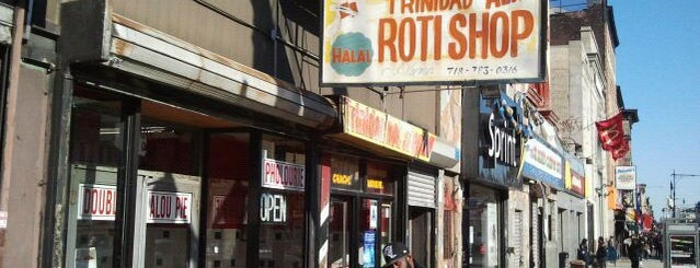 Ali's T & T Roti is one of Brooklyn.