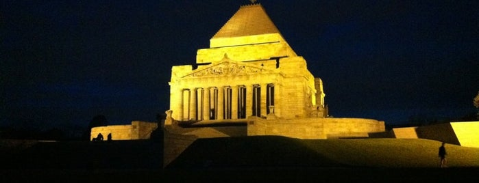 Shrine of Remembrance is one of Quintessential Melbourne.