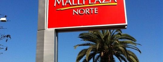 Mall Plaza Norte is one of Malls en Santiago de Chile.