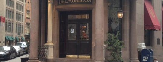 Delmonico's Restaurant Steak House Grill is one of NYC Things To Do.