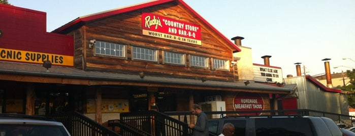 Rudy's Country Store & Bar-B-Q is one of Must-visit BBQ Joints in Austin.