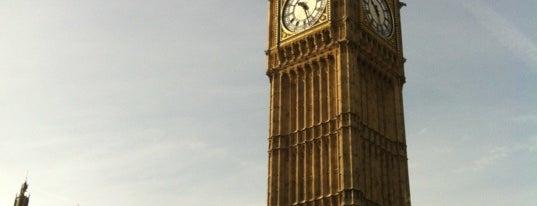 Elizabeth Tower (Big Ben) is one of My United Kingdom Trip'09.