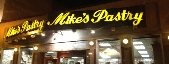 Mike's Pastry is one of BUcket List.