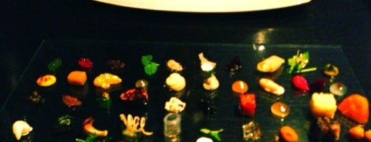 Alinea is one of Bizarre Foods.