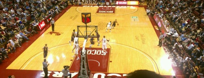 TD Arena, College of Charleston is one of Charleston, SC #visitUS.