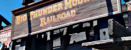 Big Thunder Mountain Railroad is one of Florida Trip '12.
