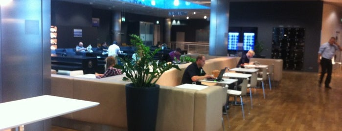 Lufthansa Business Lounge (Schengen) is one of Lufthansa Lounges.