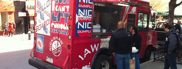 Rickshaw Dumpling Truck is one of NYC Food Trucks.