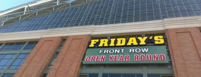 TGI Fridays Front Row Sports Grill is one of Bars, Pubs and Beer Halls.