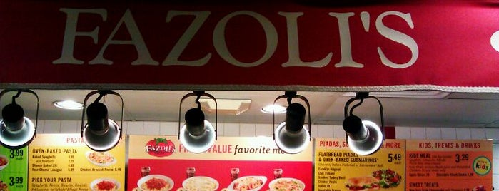 Fazoli's is one of Foodie.