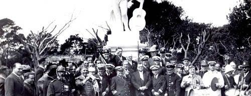 República de la Parva Domus Magna Quies is one of Montevideo City Badge - Mateína.