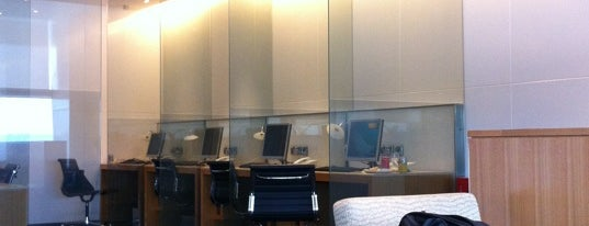 Cathay Pacific First and Business Class Lounge is one of Airp0rts.