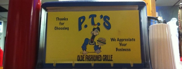 P.T.'s Olde Fashioned Grille is one of Best Local Food.