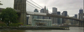 Brooklyn Bridge Park is one of My favorite places.