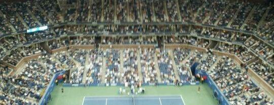 Arthur Ashe Stadium - USTA Billie Jean King National Tennis Center is one of Parks & Recreation.