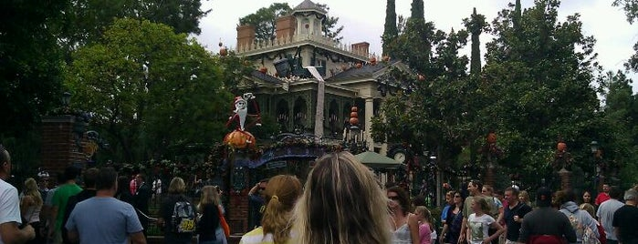 Haunted Mansion is one of Rides I Done...Rode.