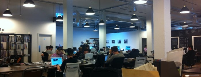 Vice HQ is one of Silicon Roundabout / Tech City London (Open List).