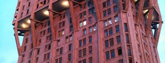 Torre Velasca is one of Milan City Badge - Milano da bere.