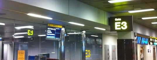 Gate E3 is one of SIN Airport Gates.