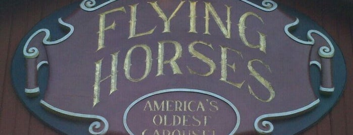 Flying Horses Carousel is one of a local's guide to Cape Cod.