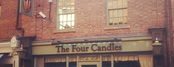 The Four Candles (Wetherspoon) is one of Oxfordshire Wetherspoons.
