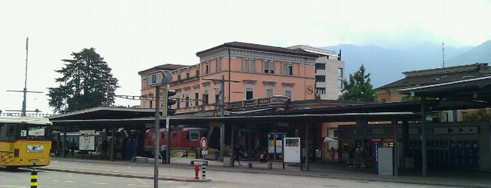Stazione FART Locarno is one of Bahnhöfe Top 200 Schweiz.