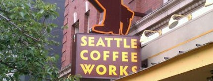Seattle Coffee Works is one of My Favorite Cafes with Coffee and Wifi.
