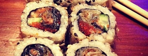Tanuki is one of Sushi. Kyiv. Японская кухня.