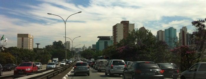 Avenida Vinte e Três de Maio is one of Principais Avenidas de São Paulo.
