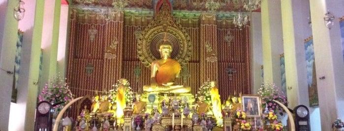 วัดชนะสงครามฯ (Wat Chana Songkhram) is one of Bangkok (กรุงเทพมหานคร).