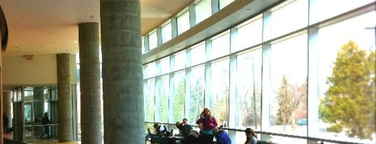 Centennial Centre for Interdisciplinary Science (CCIS) is one of Study spots around the UAlberta campus.
