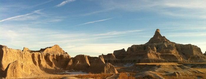 Badlands National Park is one of Visit the National Parks.