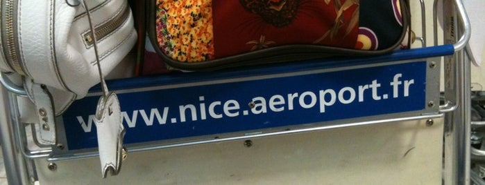 Nice Côte d'Azur Airport (NCE) is one of I Love Airports!.