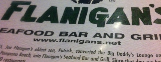 Flanigan's Seafood Bar & Grill is one of Stuff Your Face.