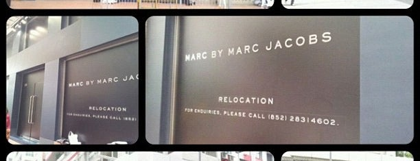 Marc by Marc Jacobs is one of Hong Kong.