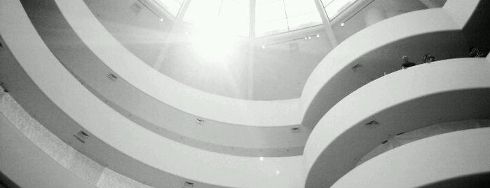 Solomon R. Guggenheim Museum is one of Help me find nice places in NY.