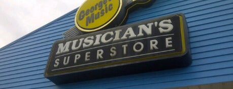 George's Music is one of Orlando - Compras (Shopping).
