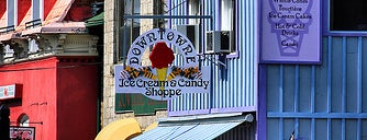 Downtowne Ice Cream and Candy Shoppe is one of Must Visit Shops!!.