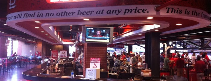 Busch Stadium is one of Where to find craft beer at Busch Stadium.