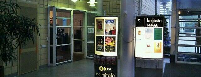 Malmin kirjasto is one of HelMet-kirjaston palvelupisteet.