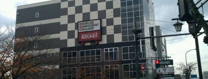 ラウンドワン 奈良店 is one of 関西のゲームセンター.
